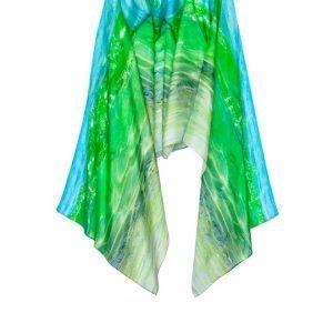 Glass wave scarf
